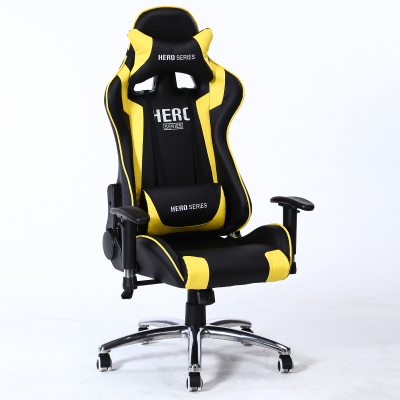 Racing Style Computer Gaming Office recliner Chair With Pillow