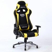 כיסא משרדי הנהלה ראסינג סגנון סדרת ארגונומי משחקי מחשב רובוט עין eSports כיסא מחשב כיסא שולחן עם כרית