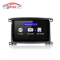 HANG XIAN Quadcore Android 7 1 2 DIN Car Radio Stereo For Toyota Land Cruiser 100