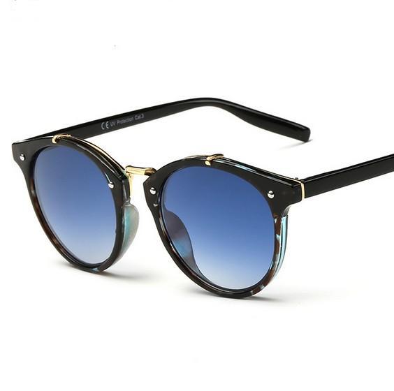 N11 tikri saulės akiniai, vyriški, retro, apvalūs saulės akiniai, - Drabužių priedai - Nuotrauka 1