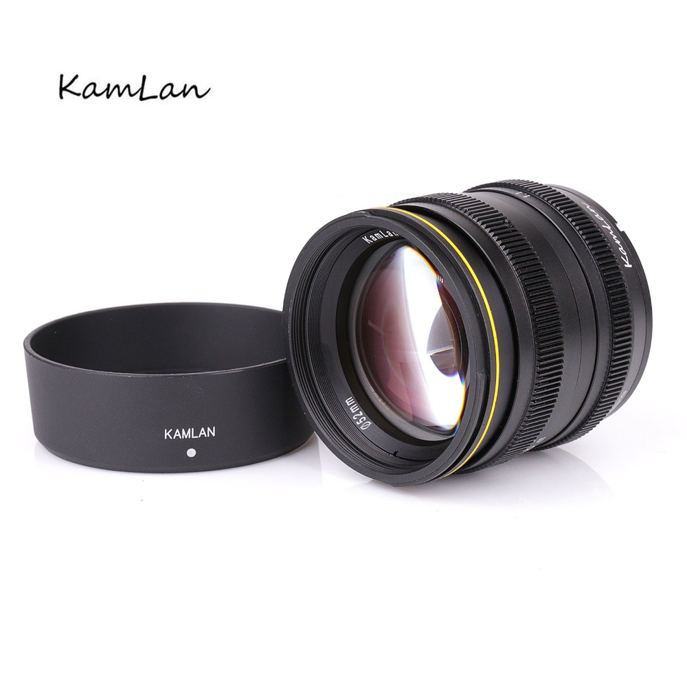 new for Kamlan 50mm F1.1 APS-C Large Aperture Manual Focus Lens for Sony E-Mount Micro single camera image