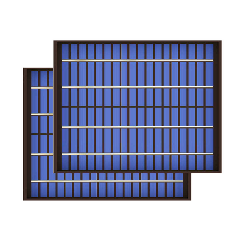 2PCS X 5Watt 10Watt 20Watt 18V Solar Panel polycrystalline PV module cell charge for 12V battery Charger 5 10 20 watts W Watt