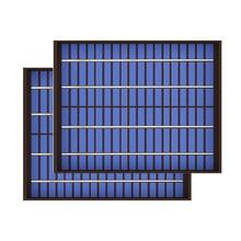 2 pces x 5 watts de 10 watts 20 watts 18 v painel solar policristalino pv módulo de carga da pilha para 12 v carregador de bateria 5 10 20 watts w watt