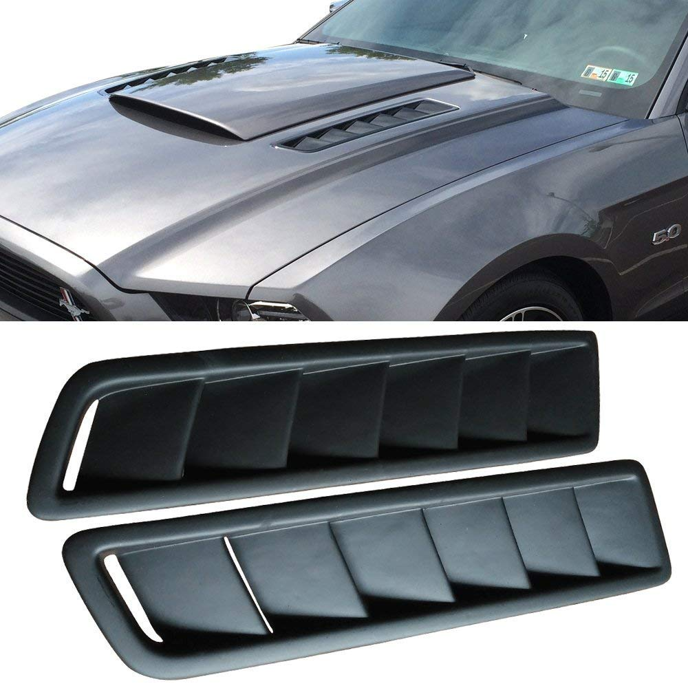 Universal Car Styling Universal Decorative Air Flow Intake Scoop Turbo Bonnet Vent Cover Hood Auto Modified Air Inlet