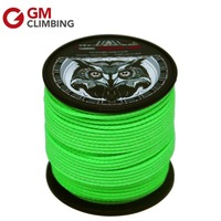 Tree Climbing Rope 180ft / 650lb Arborist Throw Line 1.7mm High Strength UHMWPE Tree Climbing Equipment Backpacking Hiking Cord