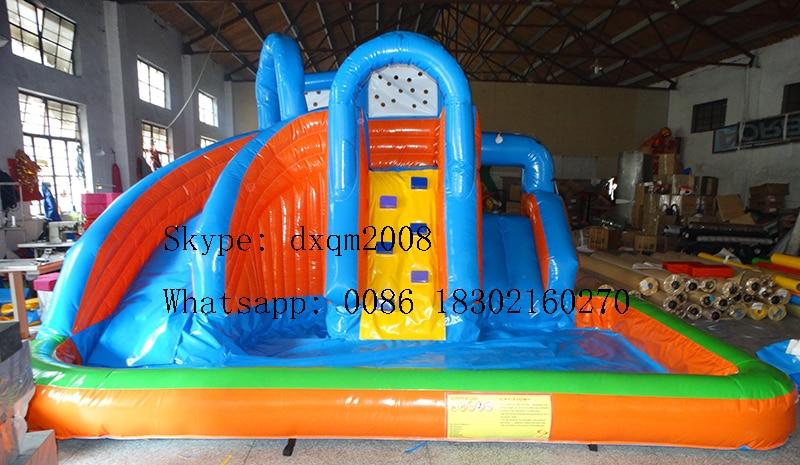 pvc slide tiup kecil untuk dijual kolam air s