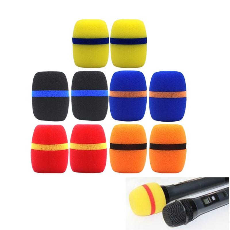 pcs thicken microphone foam mic cover professional studio windscreen protective grill shield