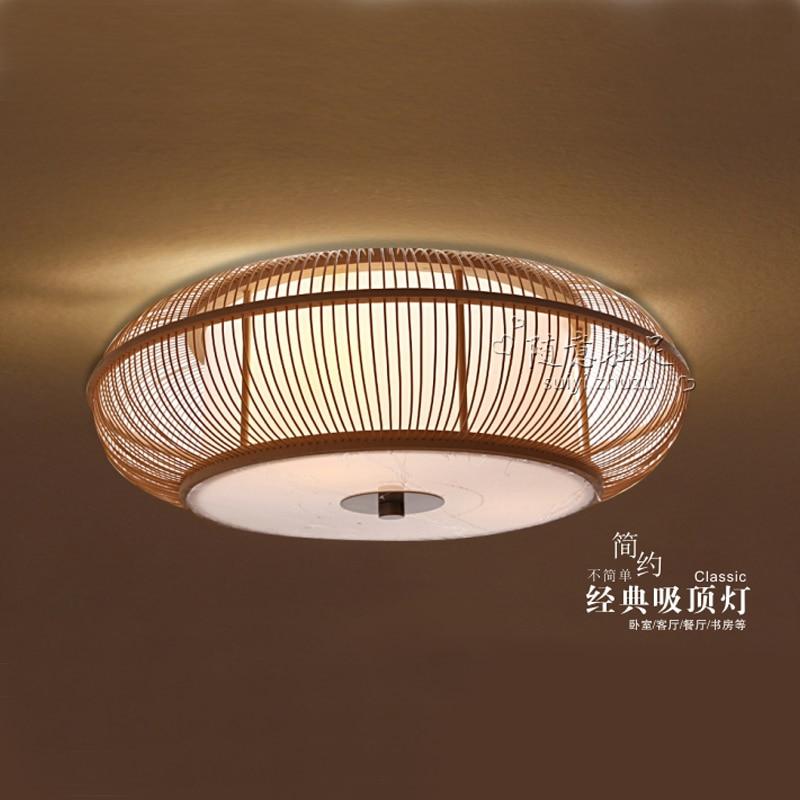 japanse stijl slaapkamer plafondlamp lamp verlichting rustieke ...
