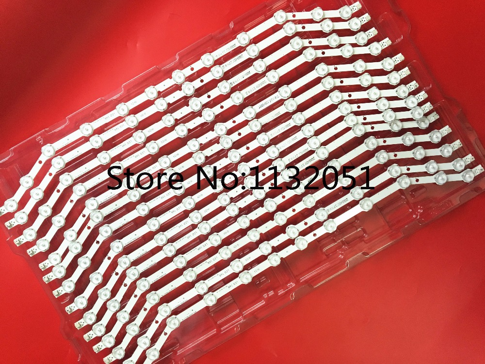 1lot=10pcs For Samsung 32inch TV BN96-28763A 12-LED Button Backlight Strip D3GE-320SM1-R2, LM41-00001S