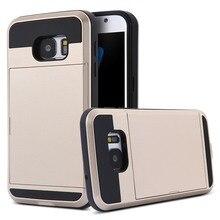 Двойной Слои Гибридный Панцири противоударный чехол для телефона для Samsung Galaxy Note 4 N7100/Note 5 N9000/S6 S7 S7 Edge Plus задняя крышка