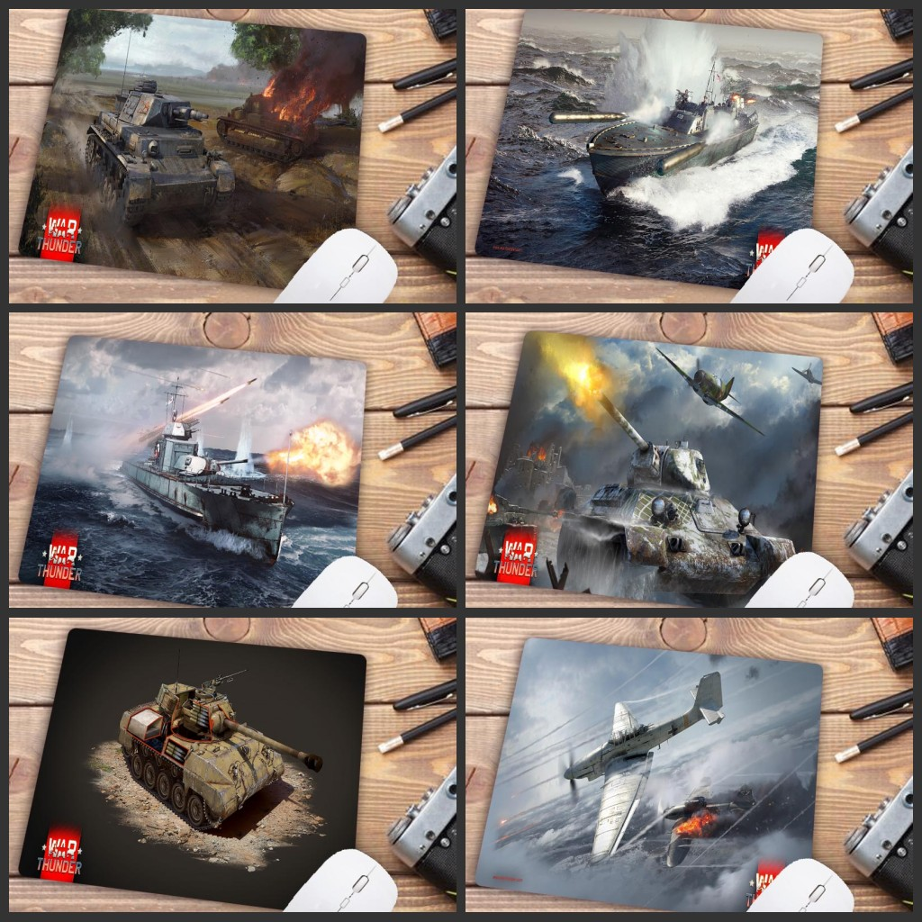 Mairuige Big Promotion War Thunder Mouse Pad Cheapest Boy Gift Mousepad Laptop Notbook Computer Gaming Mouse Pad Gamer Play Mats