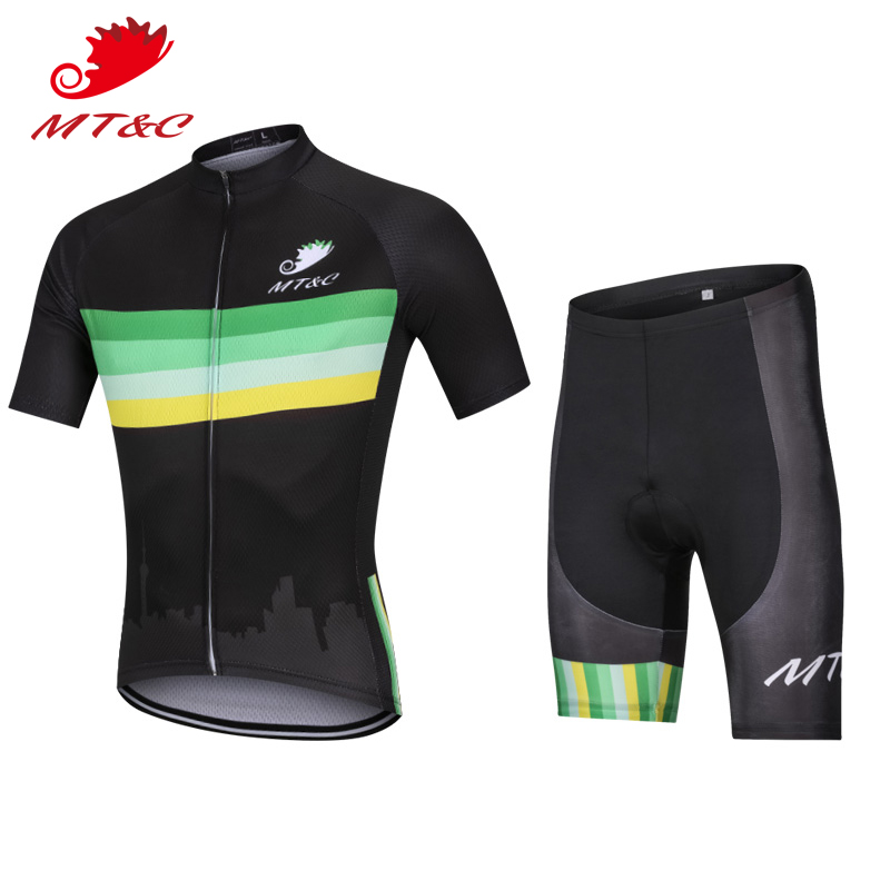 Bicycle 2018 bretelle ciclismo Man Bicycle 2018 bretelle ciclismo downhill Sets Summer Elastic Breathable Clothes camisa Comfo S
