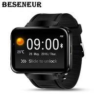 Качество DM98 Bluetooth Smart часы 2,2 дюймов ОС Android 3g Smartwatch телефон RAM512MB + ROM4GB Поддержка Камера gps sim карты wi Fi
