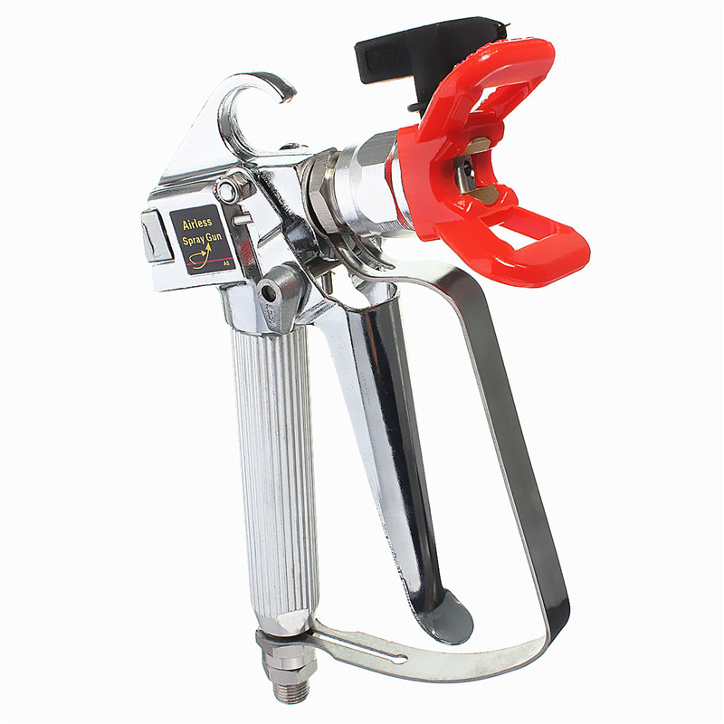 1PC Airless Paint Spray Gun 3600PSI + Tip&Tip Guard Sprayers 250kg Pressure Power Tools high quality 3600 psi airless spray gun for graco titan wagner paint sprayers with spray tip best price