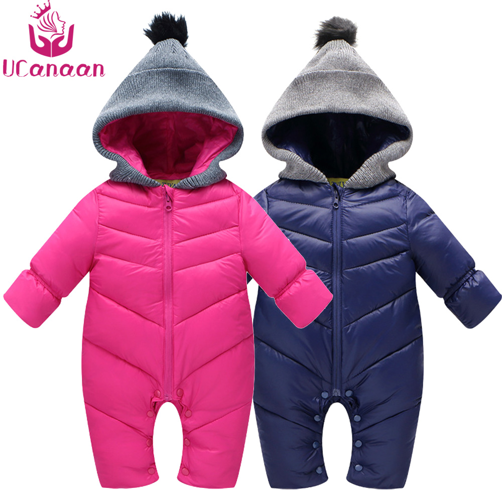 Baby Romper Clothes  Newborn Winter Kids Rompers Climbing Clothing Sets Overall Padded Infant Jacket Coat for Girls&Boys puseky 2017 infant romper baby boys girls jumpsuit newborn bebe clothing hooded toddler baby clothes cute panda romper costumes