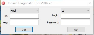 Big Promo SpecDiag Doosan Diagnostic Tool DDT SCR+DPF+G2 DCU+G2 ECU software package 2017+Keygen