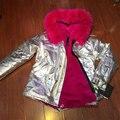 Завод OEM дизайн щепка кожаная куртка с красная роза женщин пальто