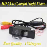 Caméra de recul de voiture CCD pour Nissan QASHQAI X-TRAIL Geniss Sunny/pour citroën C4 C5 C-QUATRE/pour Peugeot 307 hayon 307cc 408
