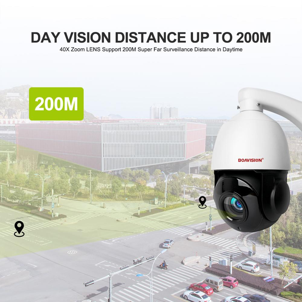 HD 1080P 5MP PTZ IP Kamera ONVIF Super 40X Zoom Mini 4 Inch Speed Dome Kamera Im Freien IP66 CCTV sicherheit Überwachung Kamera