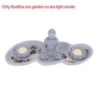 Zen Buddha Garden Decoration Lotus Candlestick Tea Light Candle holder Home Decoration Ornament Spiritual Relax Decor