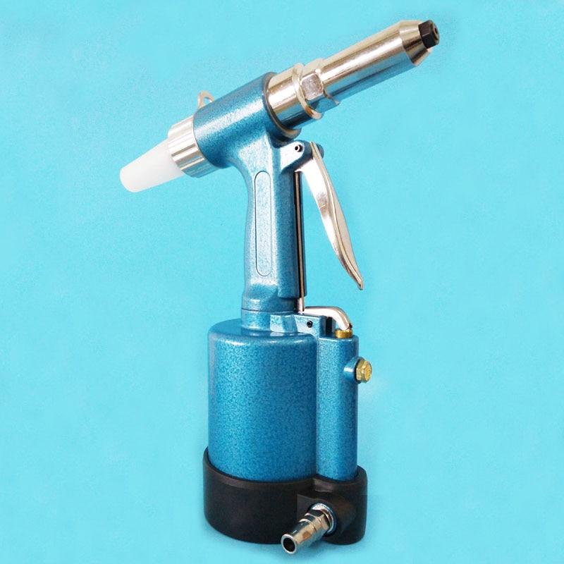 The Pneumatic Blind Rivet Gun 2.4-5.0MM With Waste Rivets Collection Bottle Blind Rivet Tools