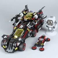 Compatible Legoness Marvel 70917 1496pcs Batman Movie Ultimate Batmobile Set Building Blocks Bricks Toys for Children Gift