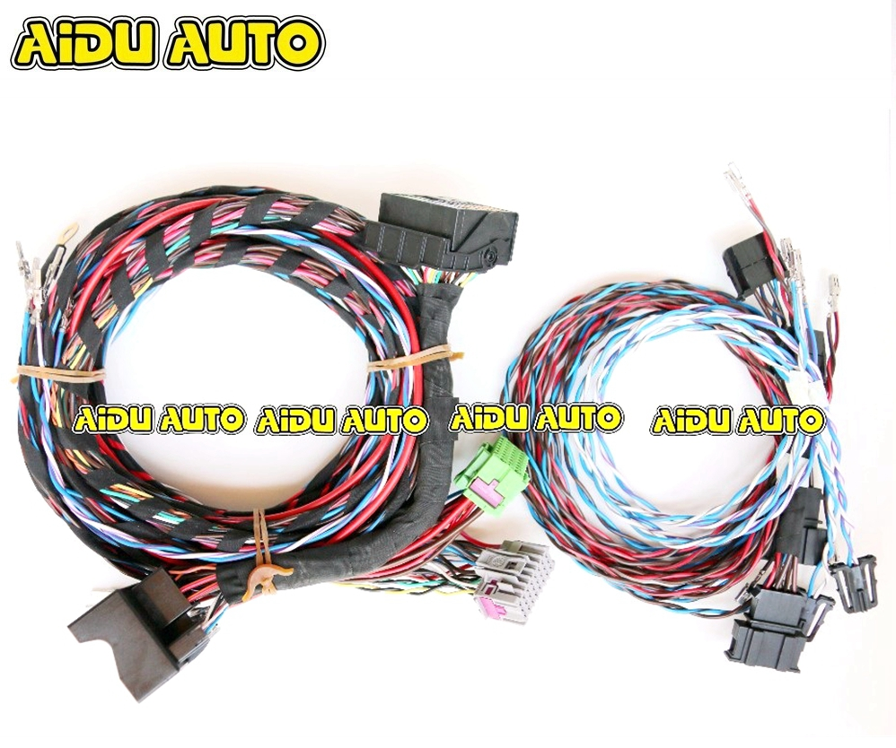 Passat B7 B6 CC Plug&play FOR Dynaudio System acoustics Wire harness Cable quinn acoustics q62 component system