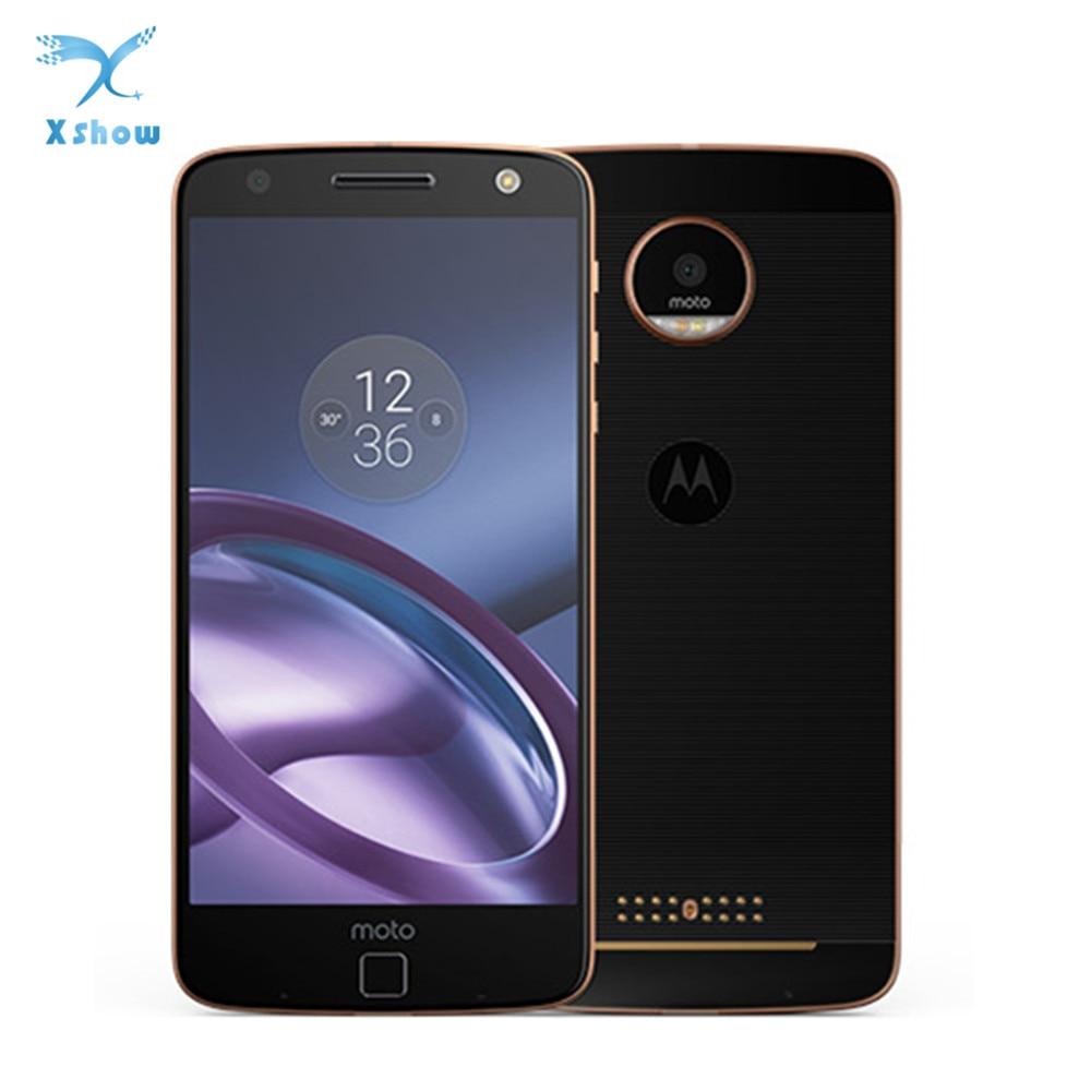 Motorola MOTO Z XT1650 5 5 HD 2K Design 4G LTE Cellphone 4GB RAM 64GB ROM