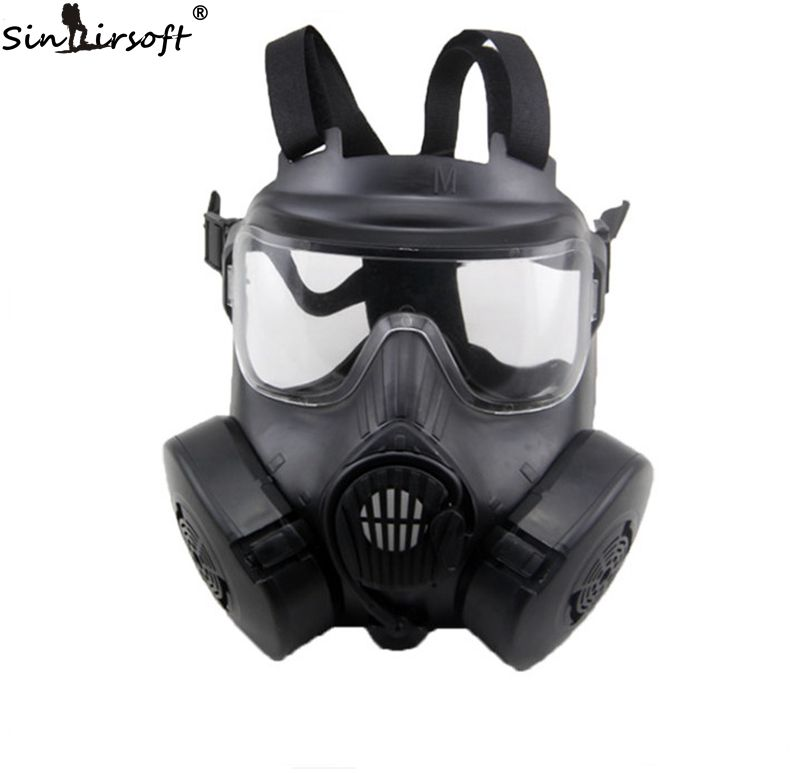 ФОТО Durable M50 DC-15 Respirator Gas Mask Style Mask With 2 Fliters Fan Mask