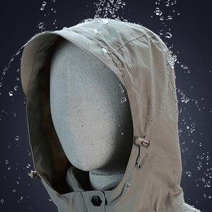Image 4 - Veste dhiver en coton épais pour homme et femme, manteau imperméable pour lextérieur, chauffage USB, coupe vent, randonnée, Camping, escalade, ski