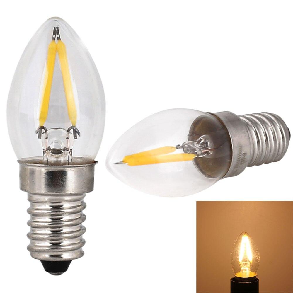 Mini E14 C7 Energy Saving LED Bulbs Warm//Day White Light Replacement Lamps A+