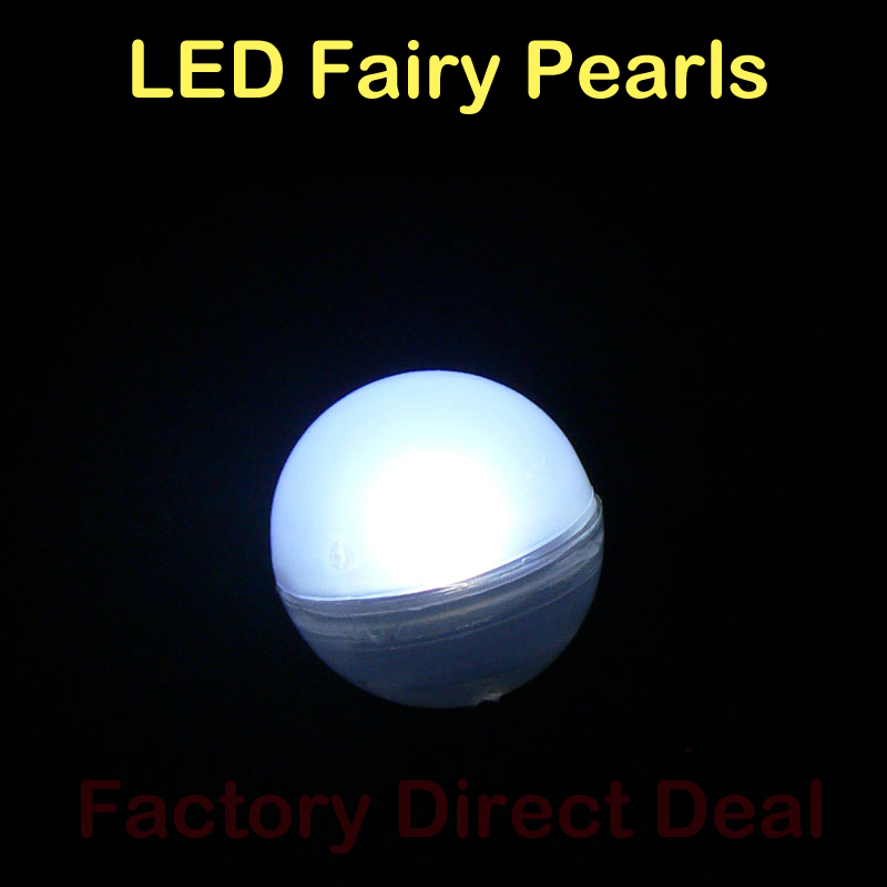 (12pcs/Lot) 2CM Round LED Ball Light, Floating LED Berries, Magical LED Berries For Wedding Party Events Decoration