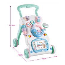 Baby Walker Pusher Toys Baby Multifuctional Play Tray