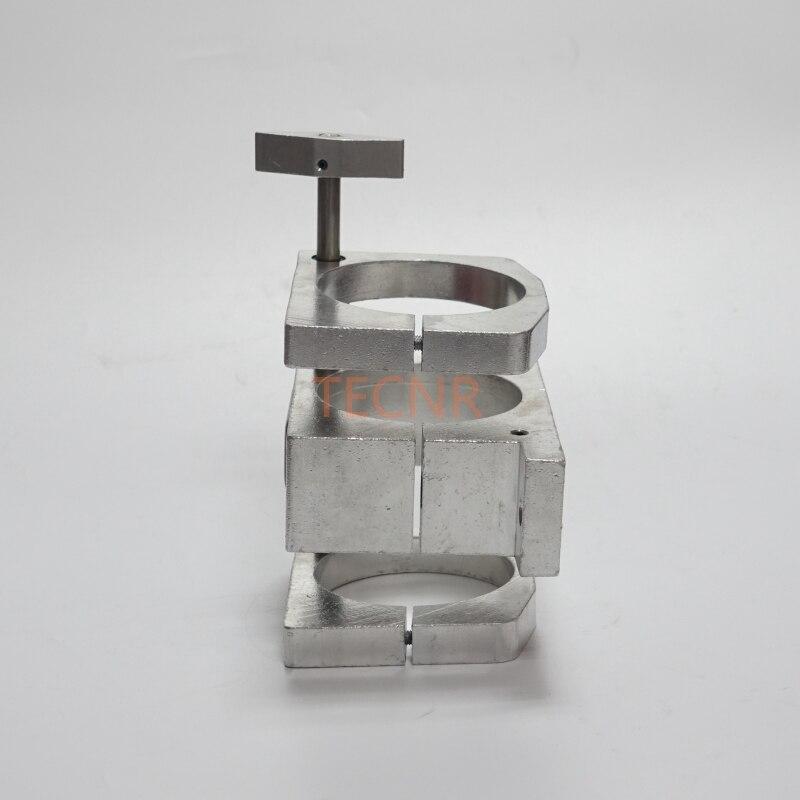 Soporte de abrazadera de motor de husillo ajustable 80MM para motor - Piezas para maquinas de carpinteria - foto 6