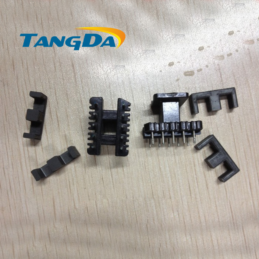 Tangda EE19 core EE Bobbin magnetic core + skeleton soft magnetism ferrites magnetic core 5+5pin 10P SMPS RF Transformers