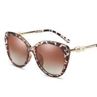 2017 Fashion Sun Glasses Polarized Coating Mirror Driving Sunglasses Round Male Eyewear For Women