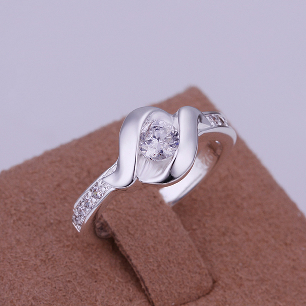 Australia Crystal Rings New Design Finger Ring for Lady Women Silver Plated Wedding Anniversary for Women ornament gift jewelry