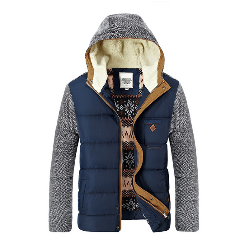 2018 New Winter Jacket Men Casual Warm Cotton   Parka   Coat Thicken Outwear Brand Clothes