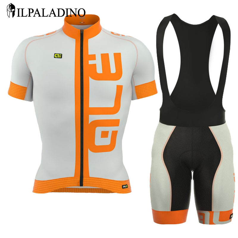 ILPALADINO Cycling Jersey Pro Team Summer Cycling Short Sleeve Sets Ropa Ciclismo Bicycle Clothing Breathable GEL Pad Quick Dry breathable quick dry bike ropa ciclismo skintight short sleeve cycling jersey clothes gel pad bicycle cycling clothing