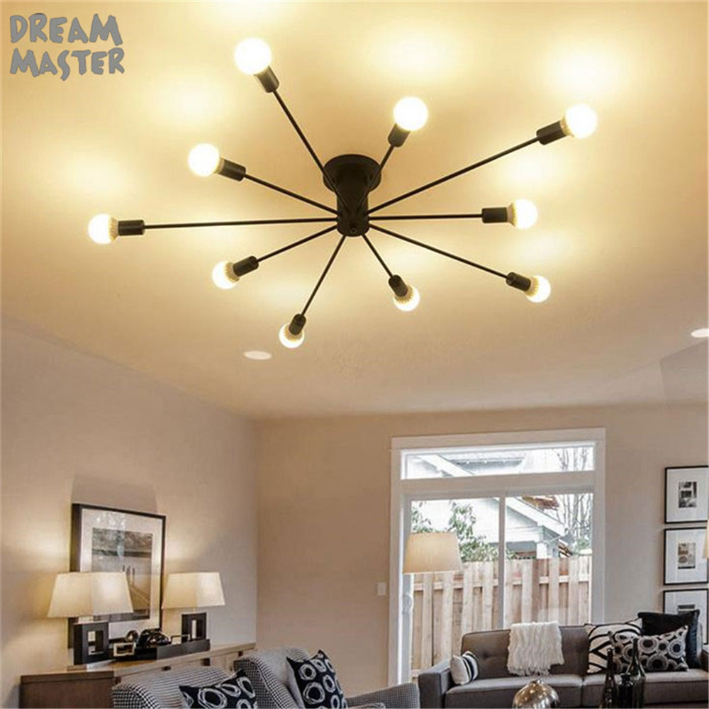 Modern art ceiling chandeliers Lamparas De Techo lustre Luminaria Abajur Ceiling Lamp Home Lighting Luminaire Living Room Lights 120cm 100cm modern ceiling lights led lights for home lighting lustre lamparas de techo plafon lamp ac85 260v lampadari luz