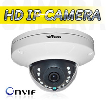 IP Camera New Design Onvif Android Vandal Proof POE Indoor Dome 720P 960P 1080P 12 Infrared LED Internet Network Camera P2P