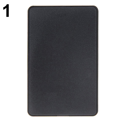 2.5Inch USB 2.0 SATA HD Box HDD Hard Drive Mobile Disk External Enclosure Case ugreen hdd enclosure sata to usb 3 0 hdd case tool free for 7 9 5mm 2 5 inch sata ssd up to 6tb hard disk box external hdd case