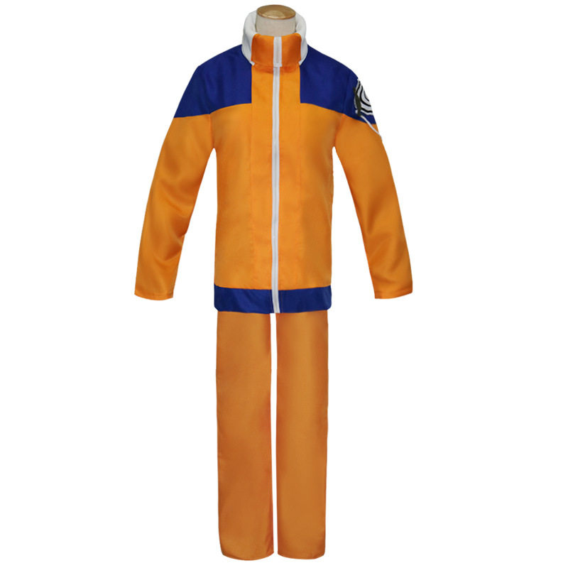 Comic Naruto Cosplay Costume for Men and Women clothes  jacket suits Adult Halloween and Party Garment