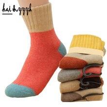 10 pièces = 5 Pars/Lot hiver femmes chaussettes épissage épaississement chaud lapin laine chaussettes dames Terry chaussette livraison gratuite ym012