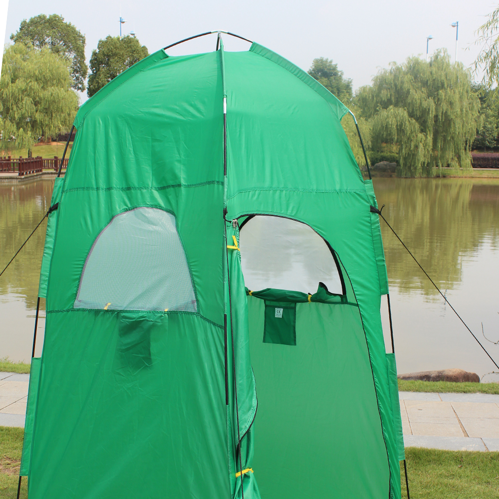 цена Ourpgone New Arrive 1*Outdoor Camping Tent Portable Pop Up Outdoor Shower Tent Toilet Privacy Change Room Tent Free shipping!