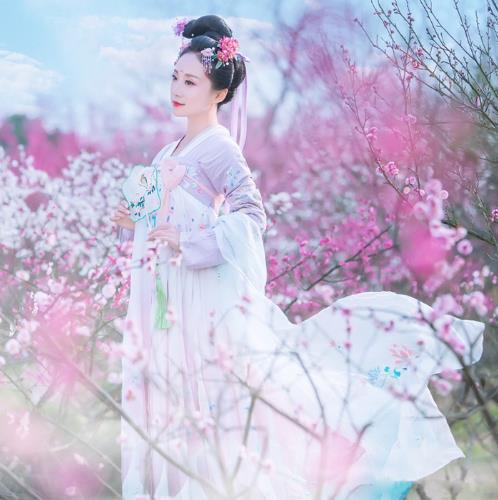 2018 new hanfu national costume ancient chinese cosplay women clothes lady stage