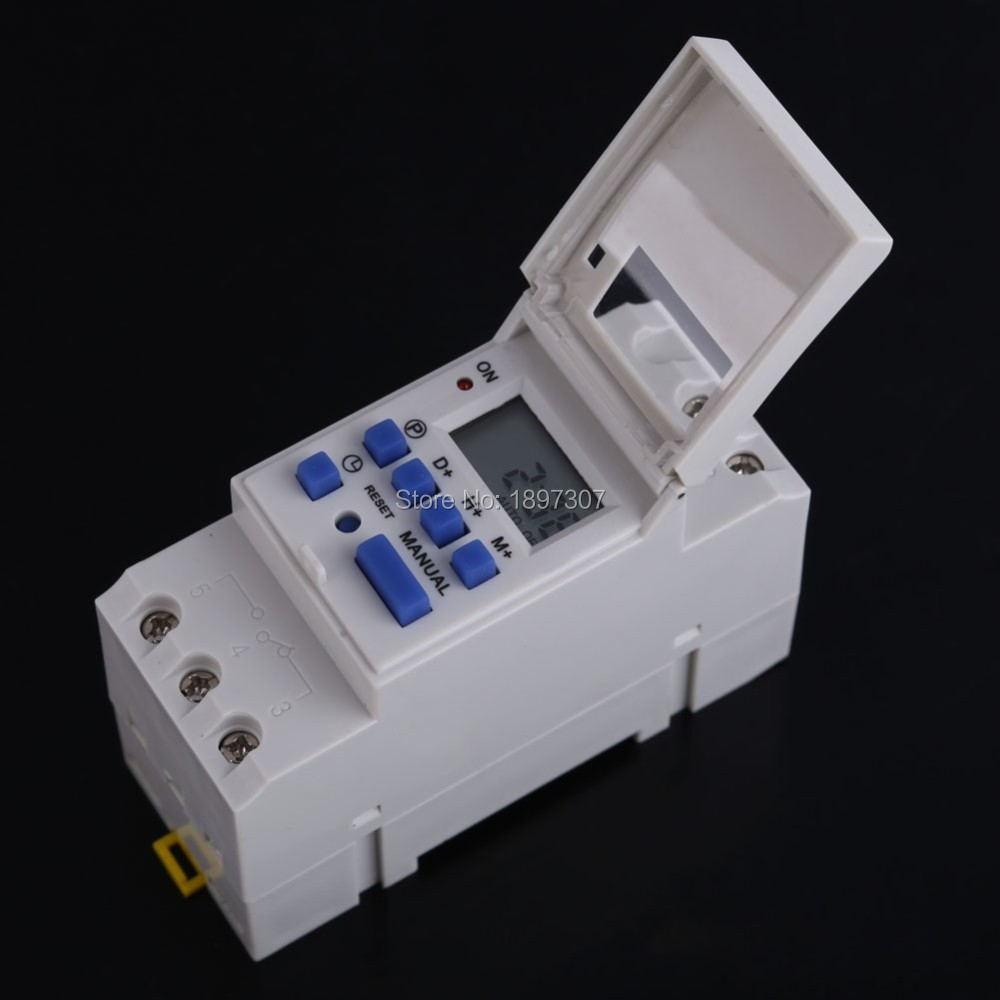 10 Teile/los Werkzeuge Thc15a Dc 12 V Wöchentlich Programmierbarer Elektronischer Timer Digitale Zeitschaltuhr VerrüCkter Preis