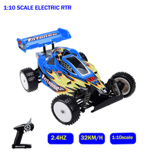 RC Car 1:10 4WD Crawler Remote Control Off Road Monster Truck High Speed Motor-driven Racing Car Electric Car Model 32km/h