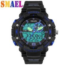 Fashion Brand Waterproof Sports Men Outdoor LED Digital Watch Cool montre homme reloj clock male W3295