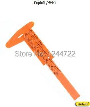 EXPLOIT TOOLS 60 mm Mini Plastic Digital caliper  vernier gauge  micrometer/ruler
